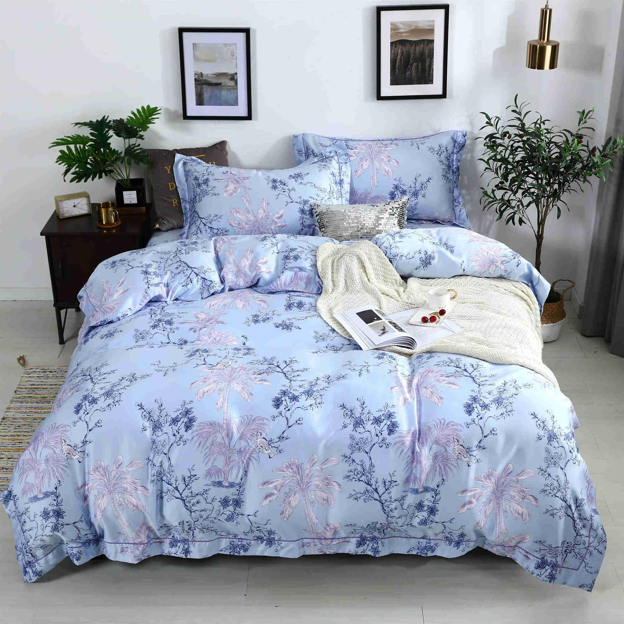 Newest Design Tencel Luxury Comforter Set